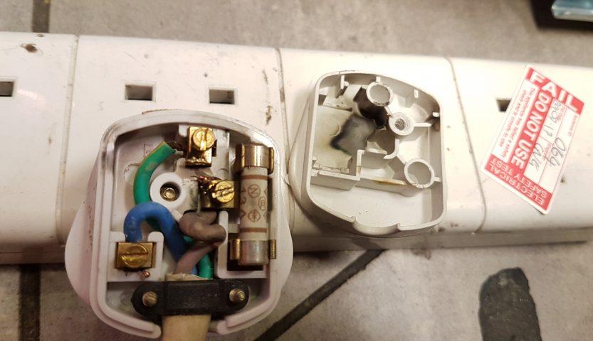 failed plug